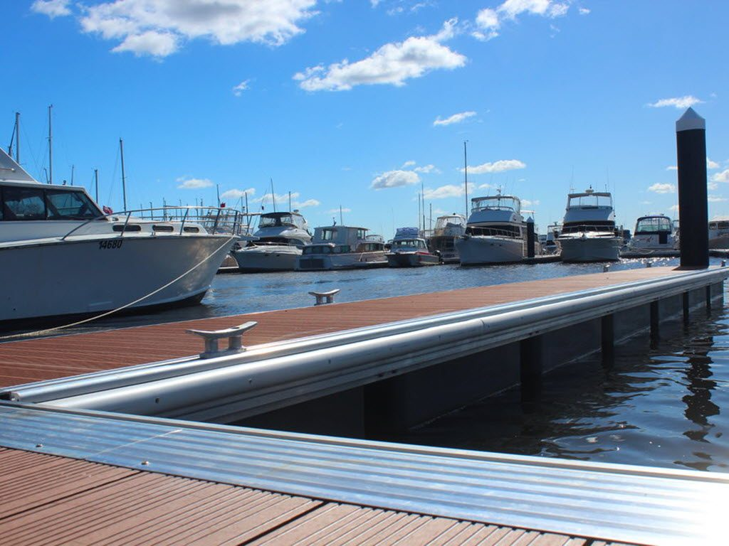 Commercial Pontoon Coral Bay